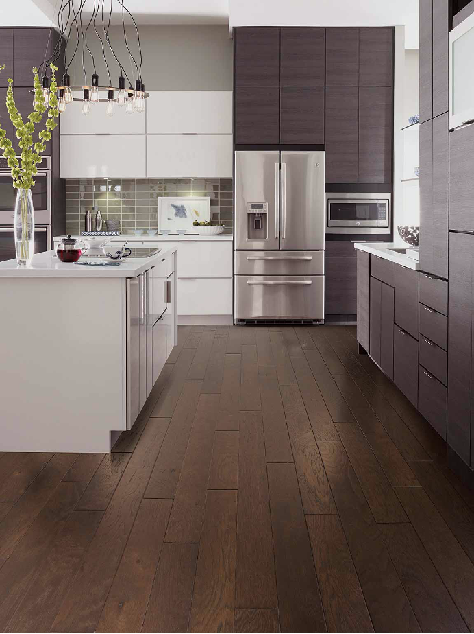 Hardwood Flooring Kitchen Example